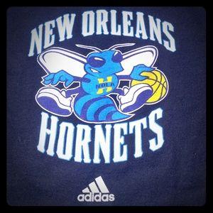 New Orleans Hornets Black T-Shirt